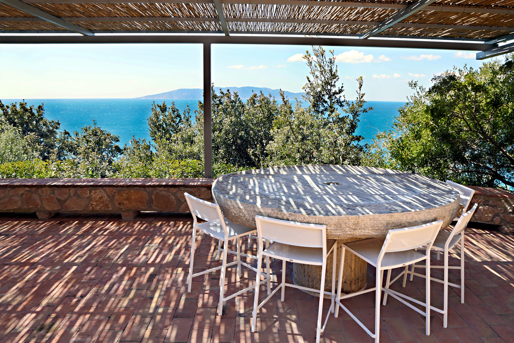 Terrace At Capo D'Uomo