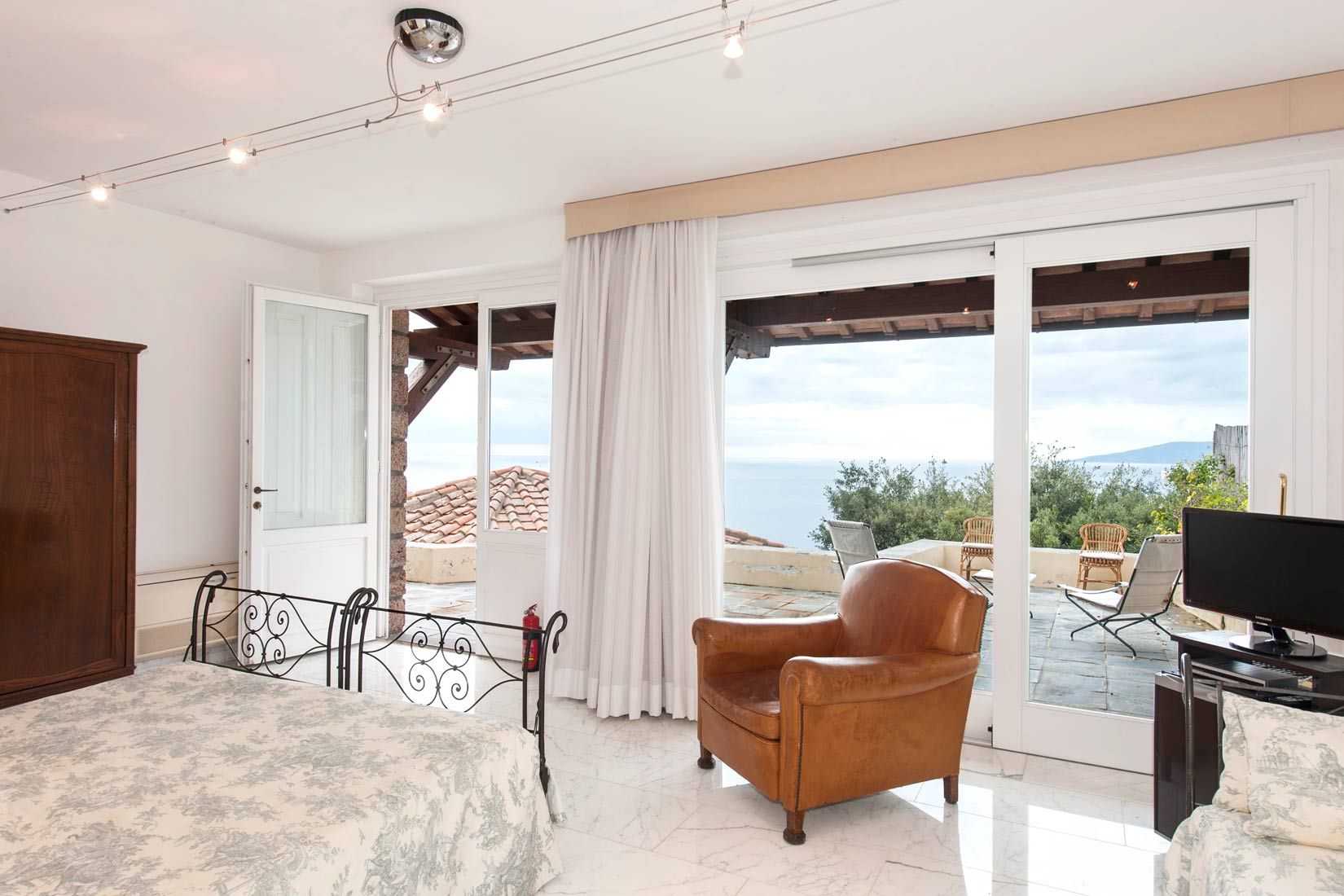 Bedroom With An Italian View