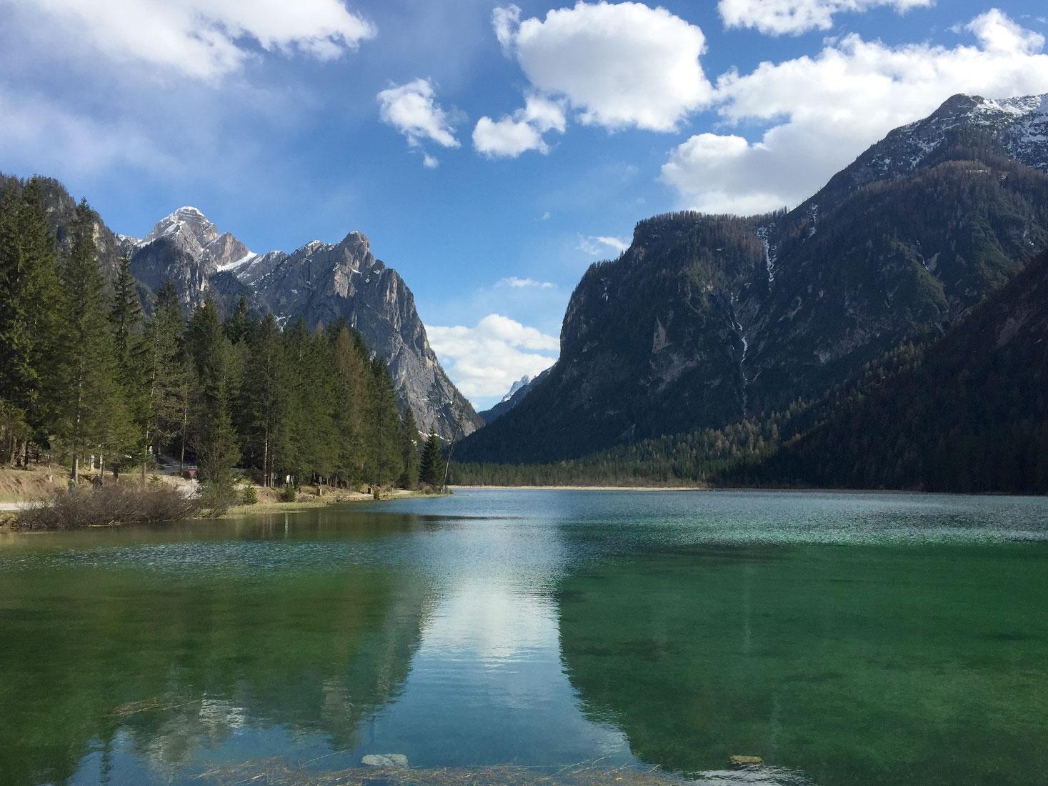 Cortina D'Ampezzo Lake